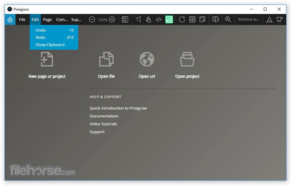 Pinegrow Web Editor 6.0 Screenshot 3