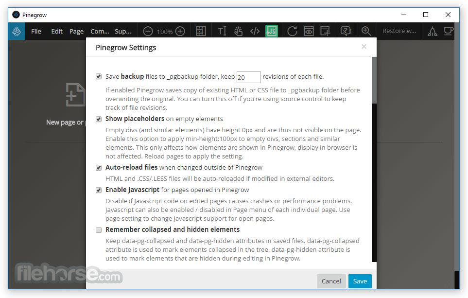 Pinegrow Web Editor 6.0 Screenshot 4
