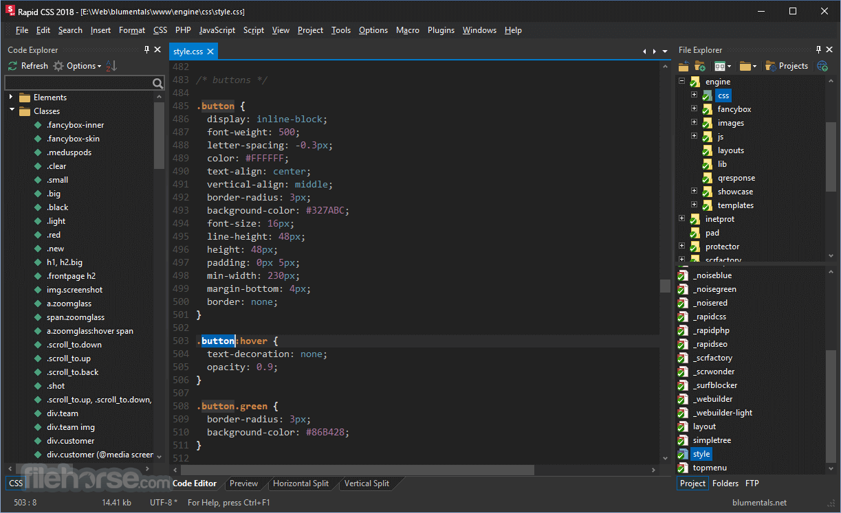 Rapid CSS 2016 14.4.0.188 Captura de Pantalla 2