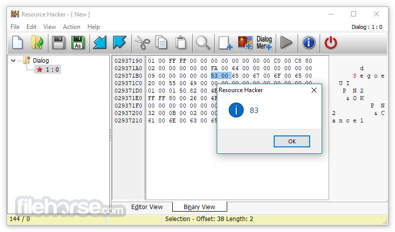 Resource Hacker 5.1.7 Build 343 Screenshot 4