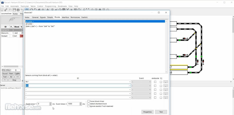 Rocrail (32-bit) Screenshot 4