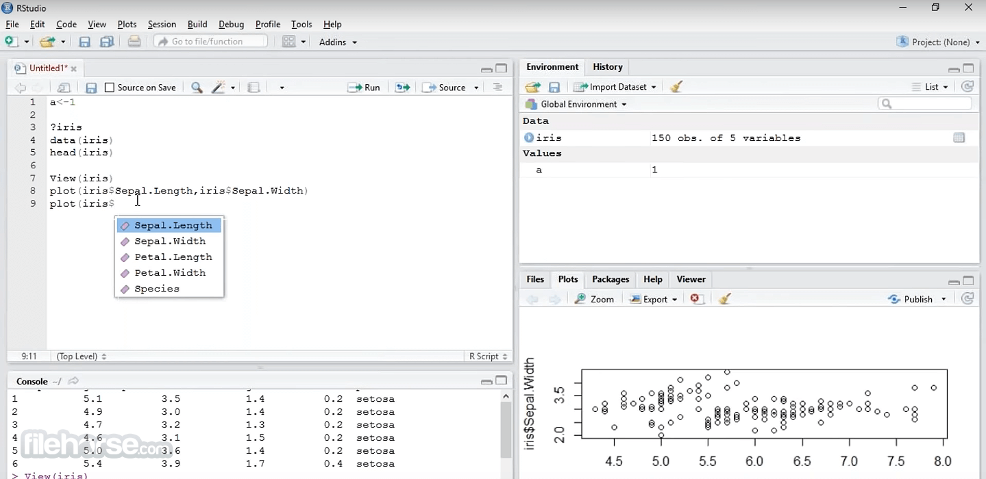 RStudio 1.4.1717 Screenshot 3