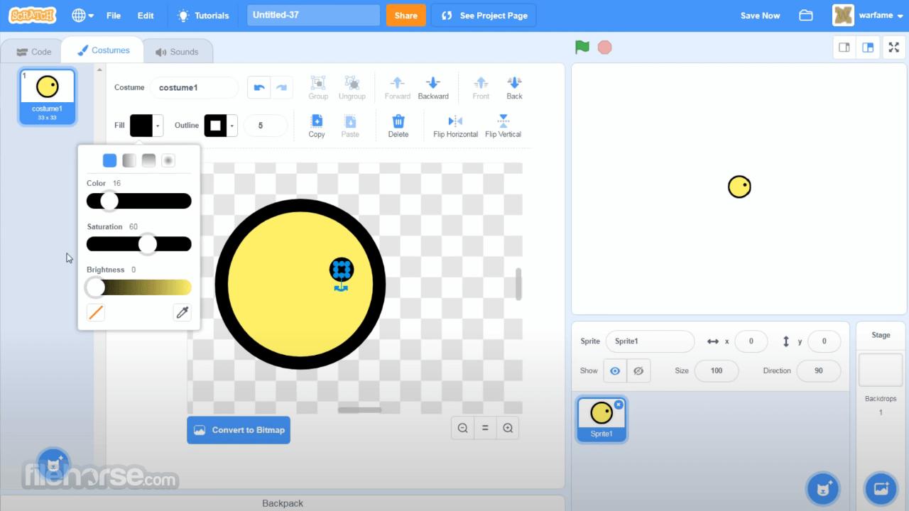Scratch Desktop 3.23.1 Screenshot 2