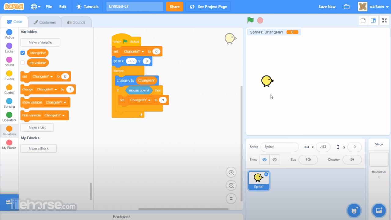 Scratch Desktop 3.23.1 Screenshot 3
