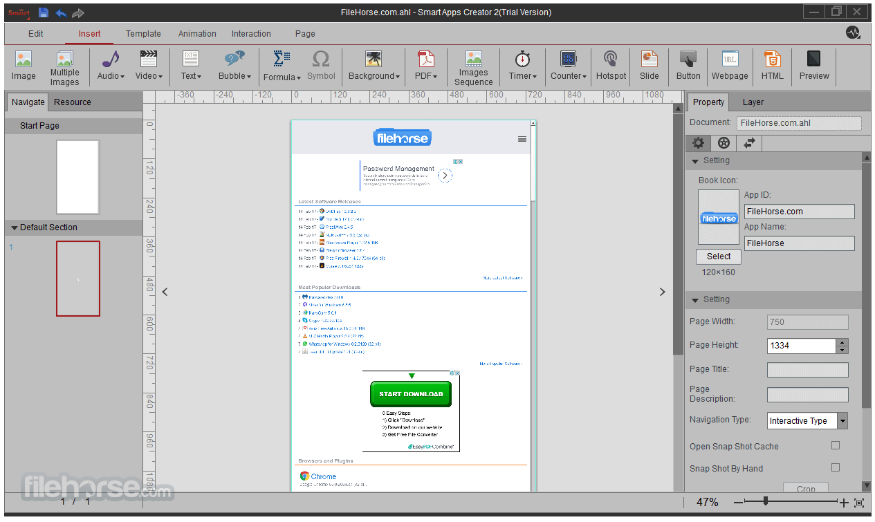 Smart Apps Creator 3.0 Screenshot 3