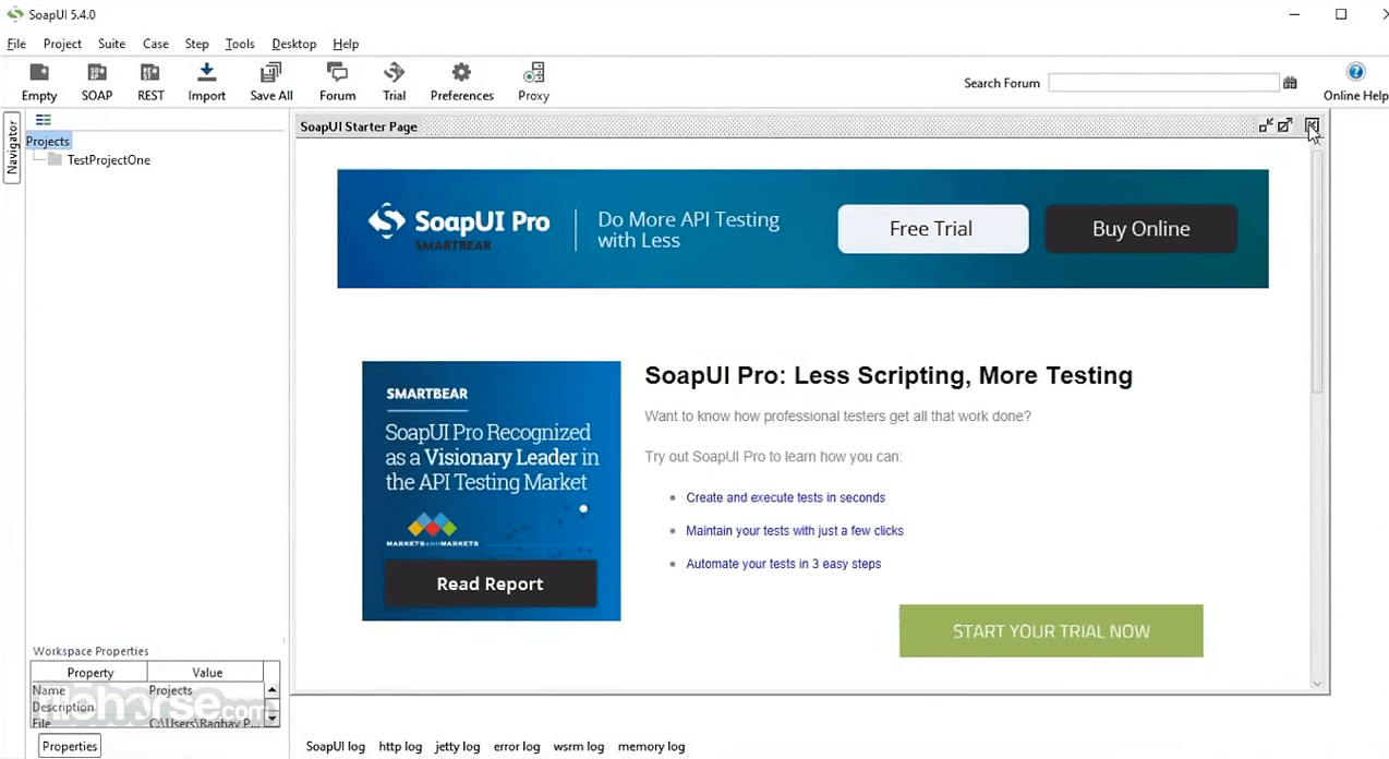 Download Soapui Portable