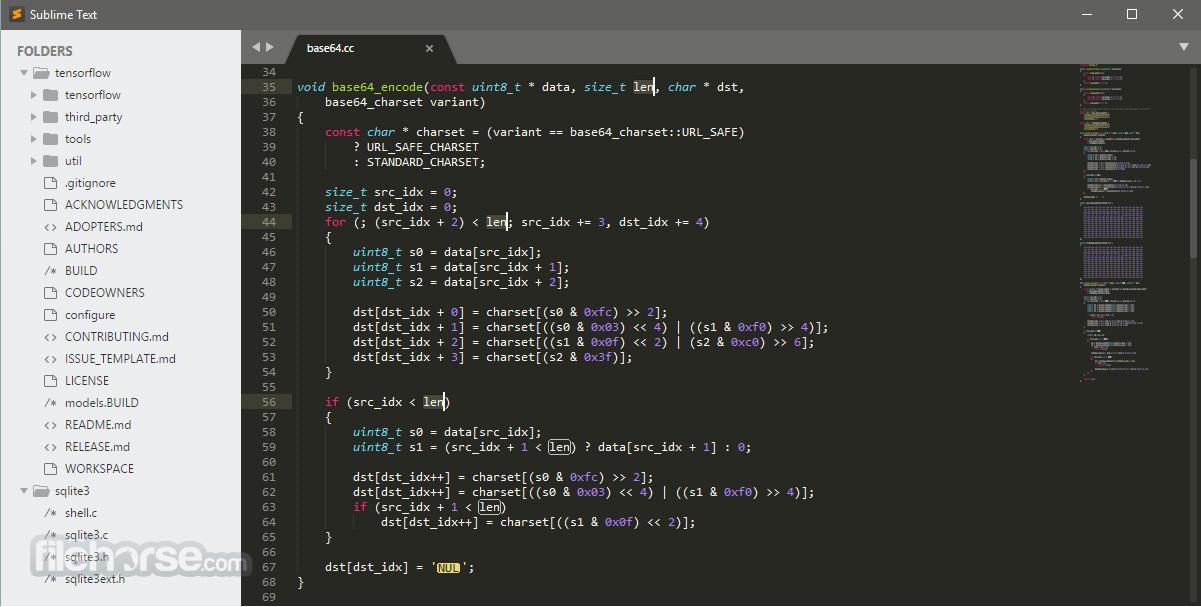 Sublime Text 3154 (32-bit) Captura de Pantalla 1