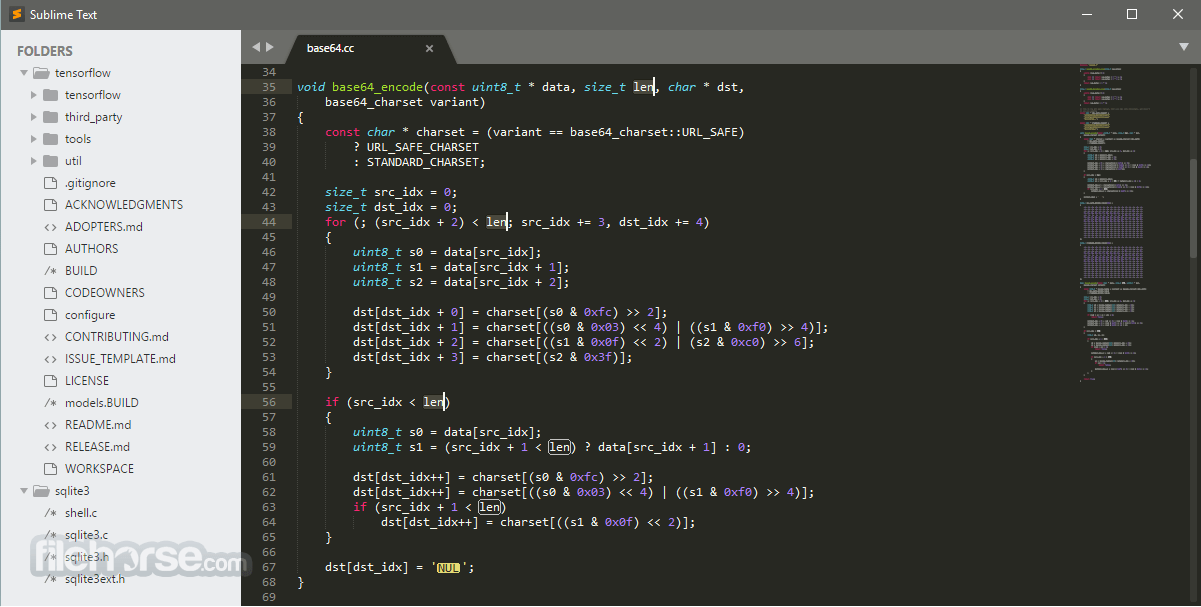 Sublime Text 3176 Dev (64-bit) Captura de Pantalla 1