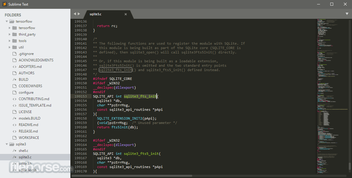 Sublime Text 3154 (32-bit) Captura de Pantalla 4