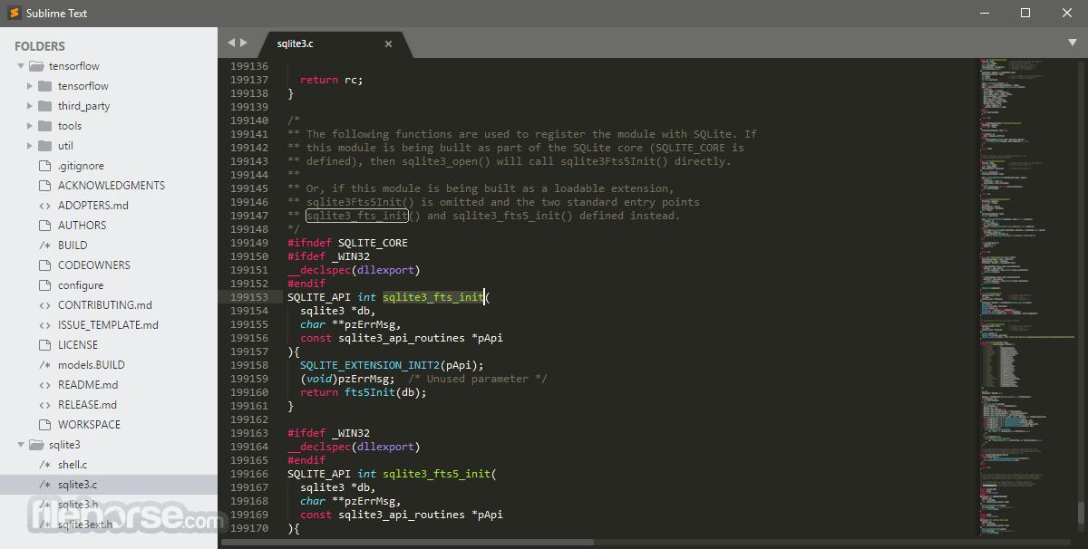 Sublime Text 3176 Dev (64-bit) Captura de Pantalla 4