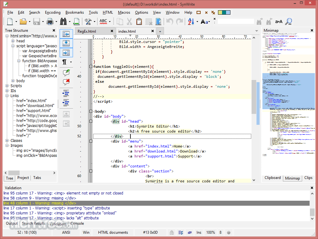 SynWrite 6.40.2770 Screenshot 2
