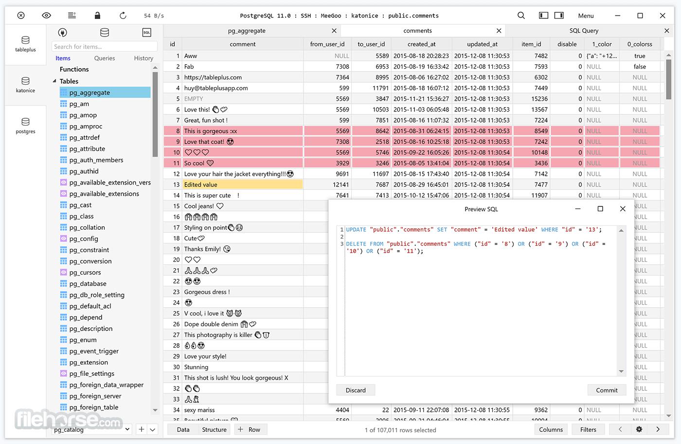 TablePlus 3.12.11 Build 152 Captura de Pantalla 1