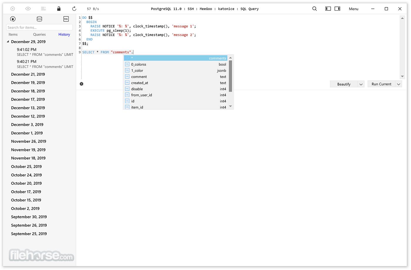 TablePlus 3.12.11 Build 152 Captura de Pantalla 2