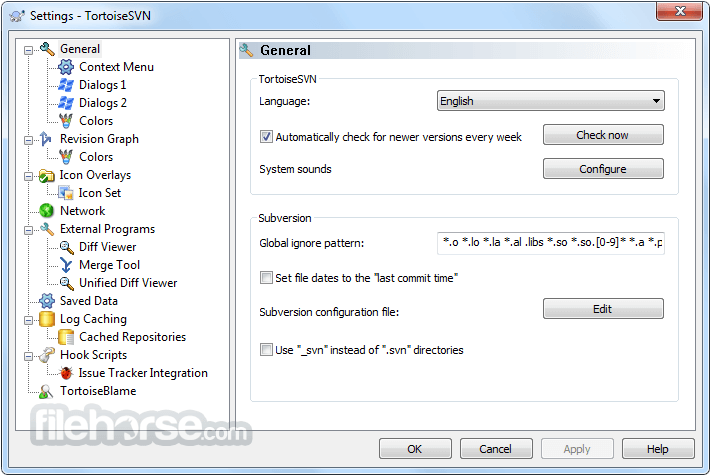 TortoiseSVN 1.10.0 (64-bit) Screenshot 1