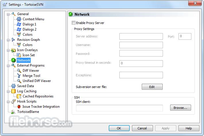 TortoiseSVN 1.10.0 (64-bit) Screenshot 2