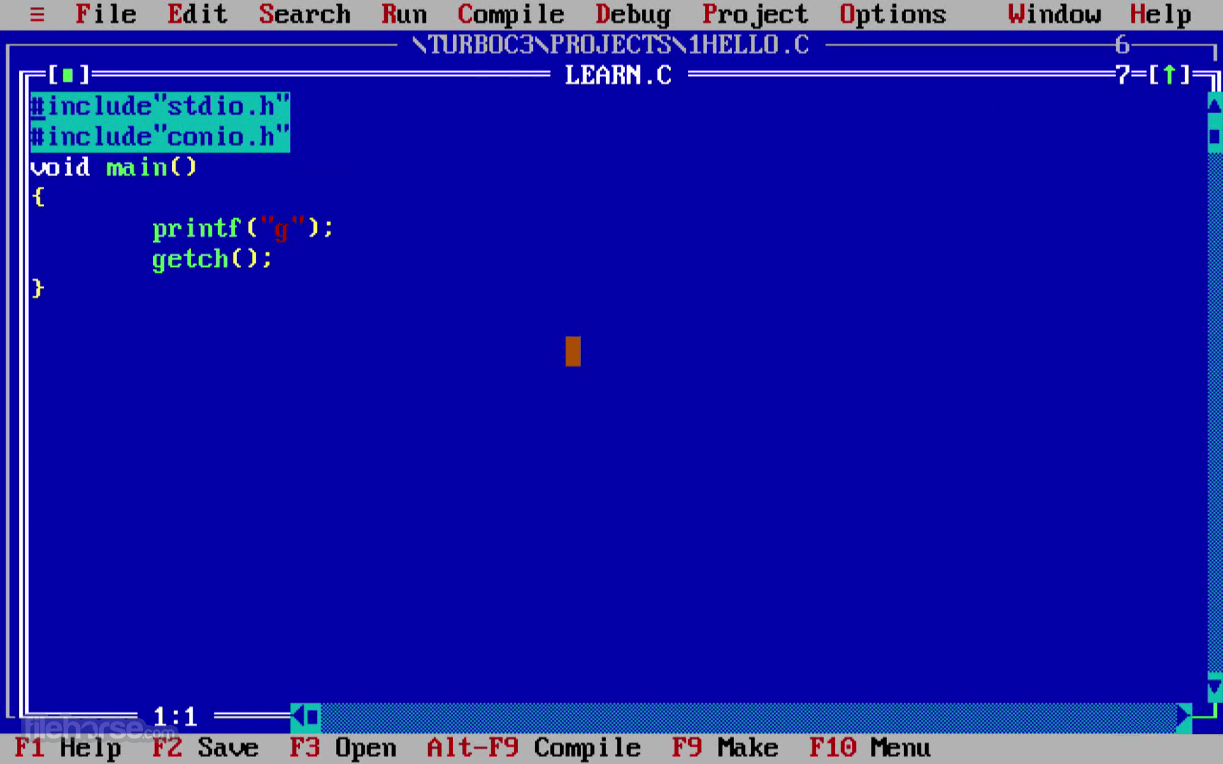 turbo c for windows 10 64 bit free download