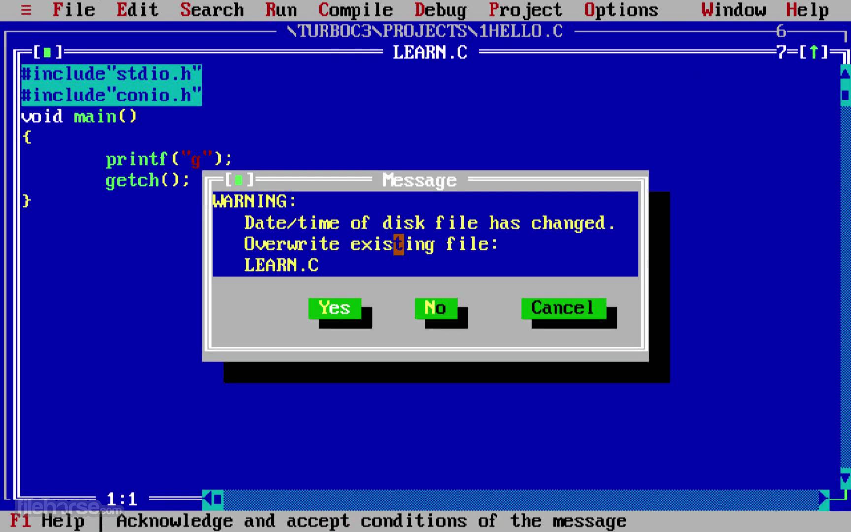 Turbo C++ 3.7.8.9 Screenshot 4