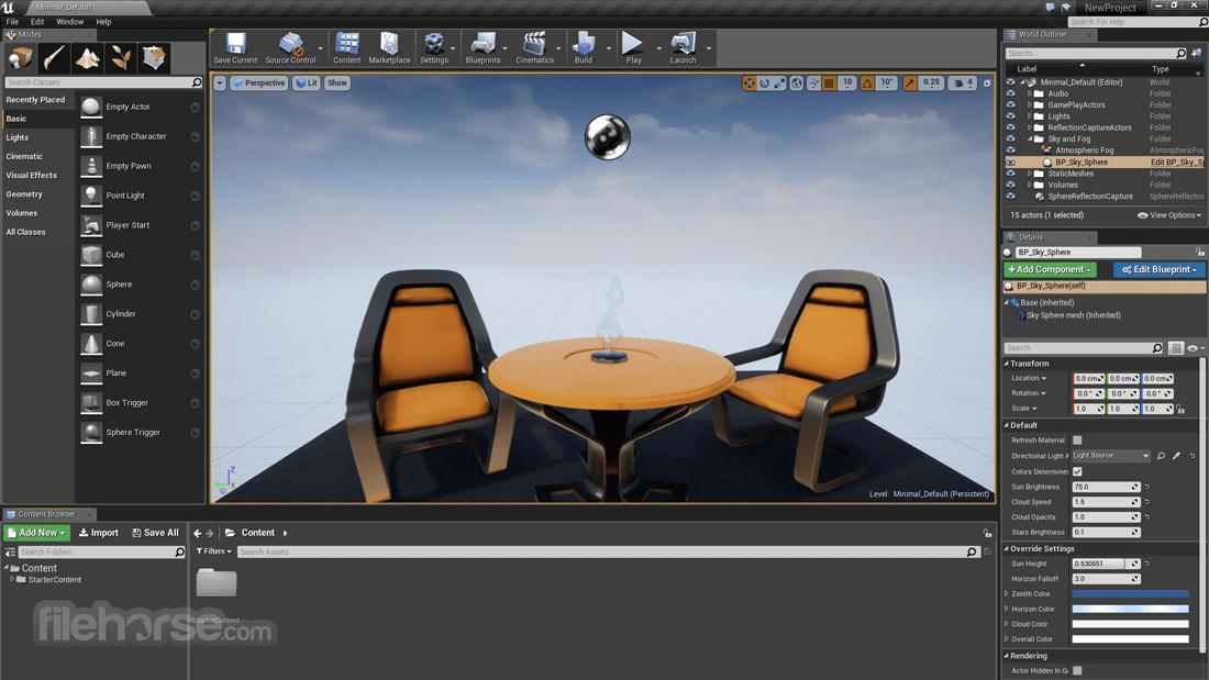 Unreal Engine 4.24 Captura de Pantalla 2