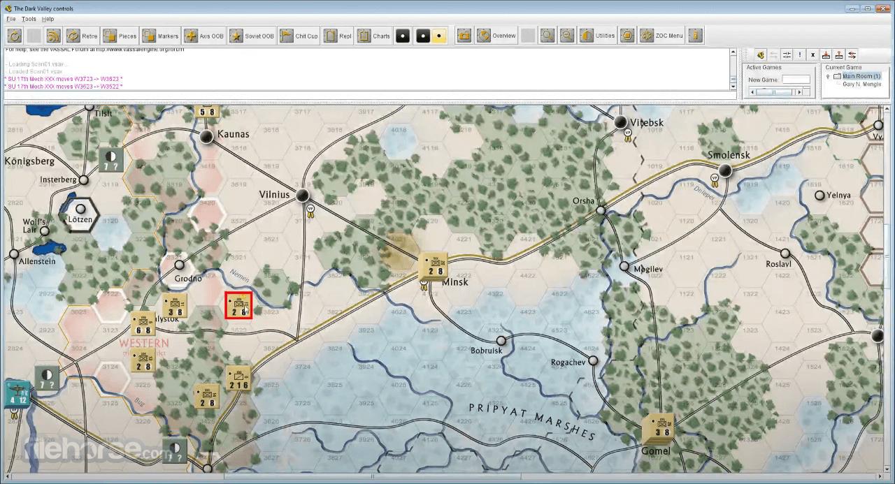 VASSAL Engine 3.4.7 Screenshot 3