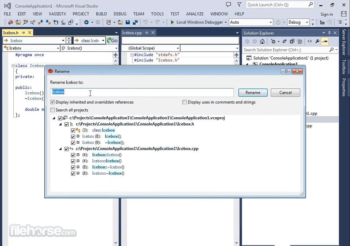 Visual Assist 2382 Screenshot 1