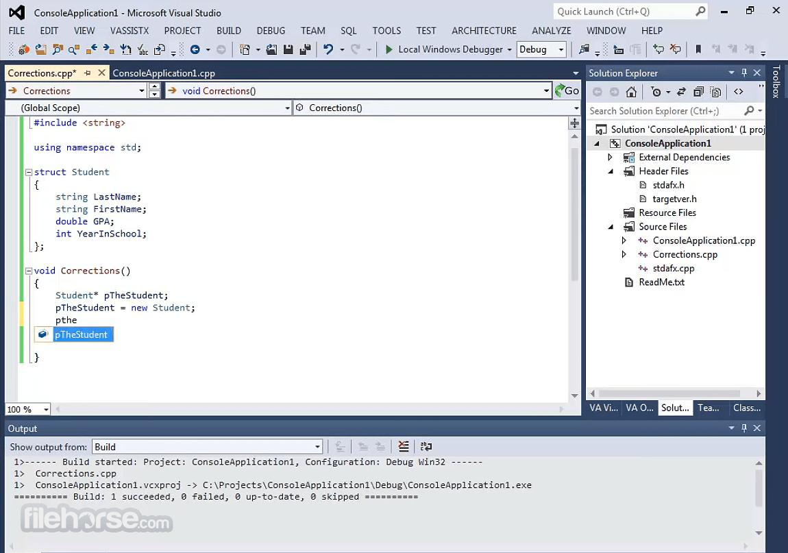 Visual Assist 2382 Screenshot 3