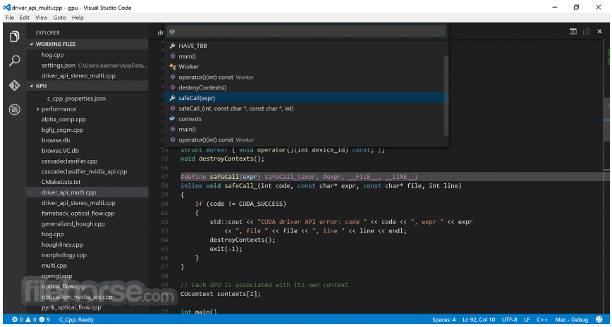 Visual Studio Code 1.28.2 Captura de Pantalla 1