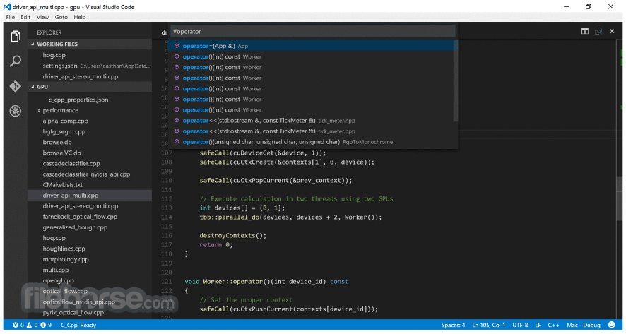 Visual Studio Code 1.28.2 Captura de Pantalla 2