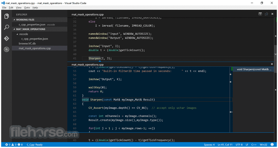 Visual Studio Code 1.28.2 Captura de Pantalla 4