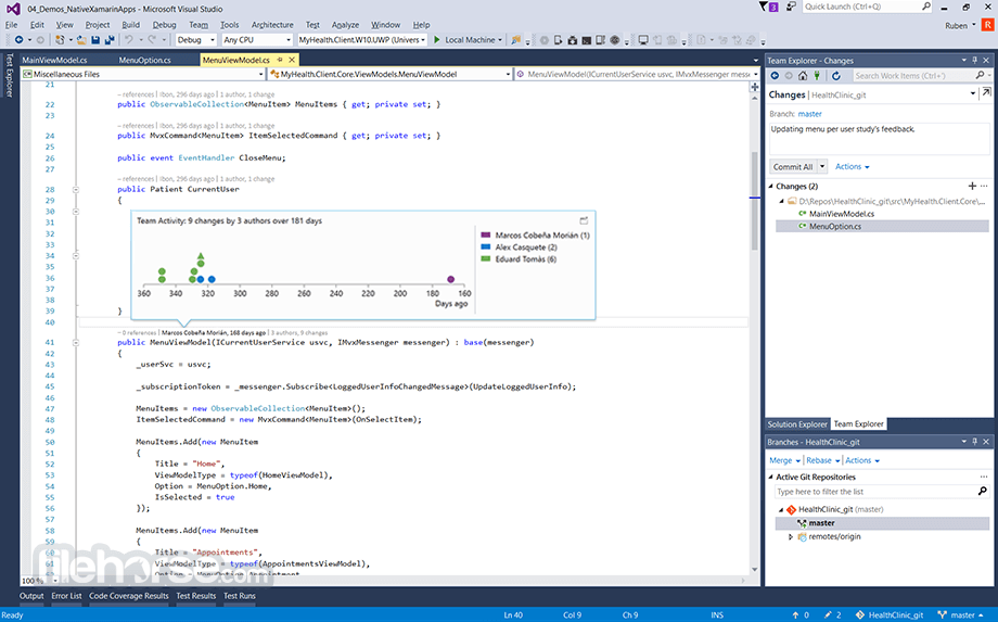 Visual Studio Community 2017 15.0.26430.16 Screenshot 4