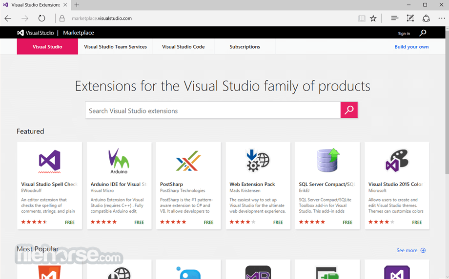 Visual Studio Community 2017 15.0.26430.16 Screenshot 5