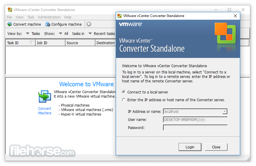 VMware vCenter Converter Standalone 6.2.0 Build 8466193 Screenshot 4