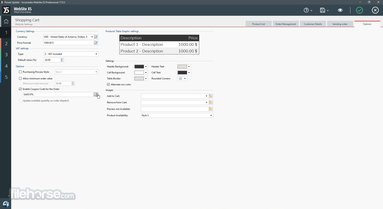 WebSite X5 Evolution 14.0.4.3 Captura de Pantalla 4