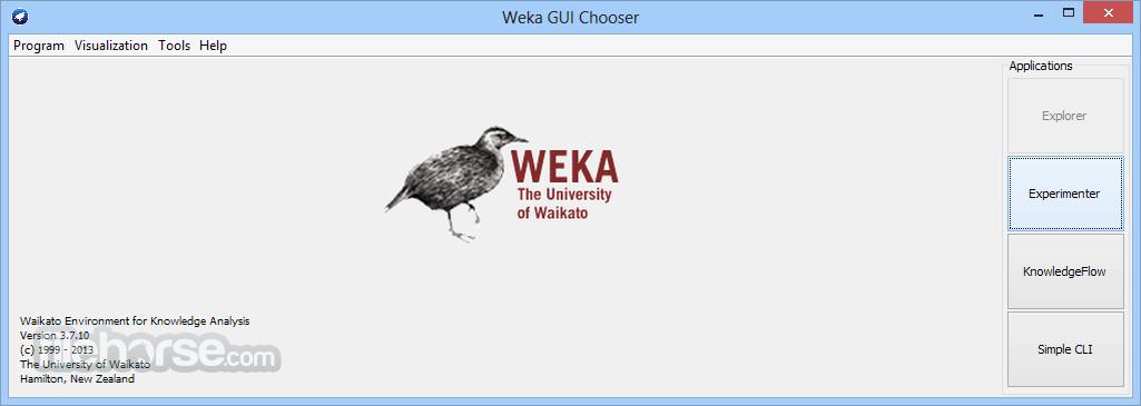 Weka 3.9.2 (32-bit) Captura de Pantalla 1