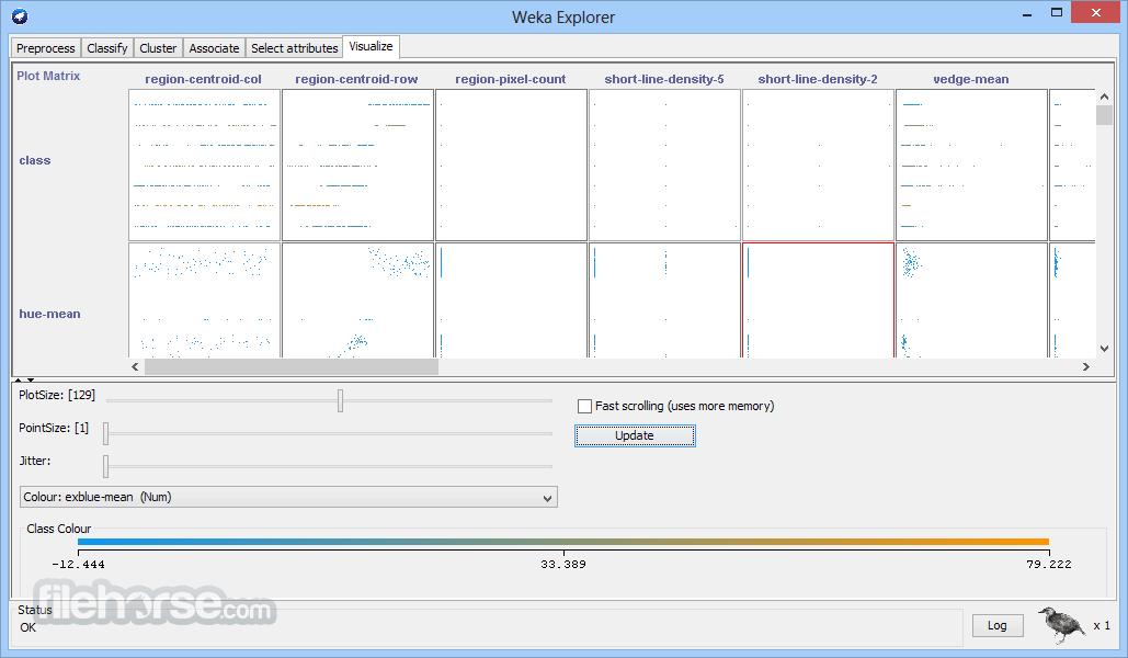 Weka 3.9.2 (32-bit) Captura de Pantalla 3