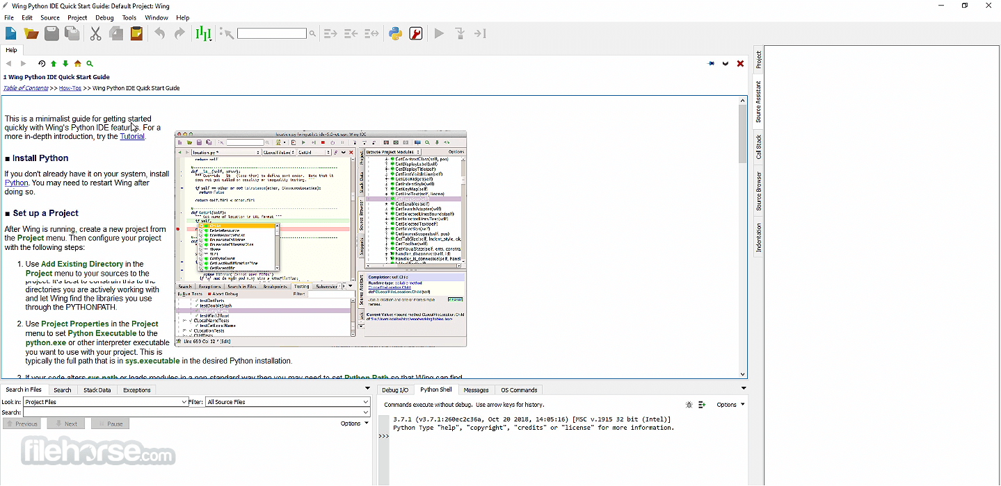 Download  Wing IDE for Windows free