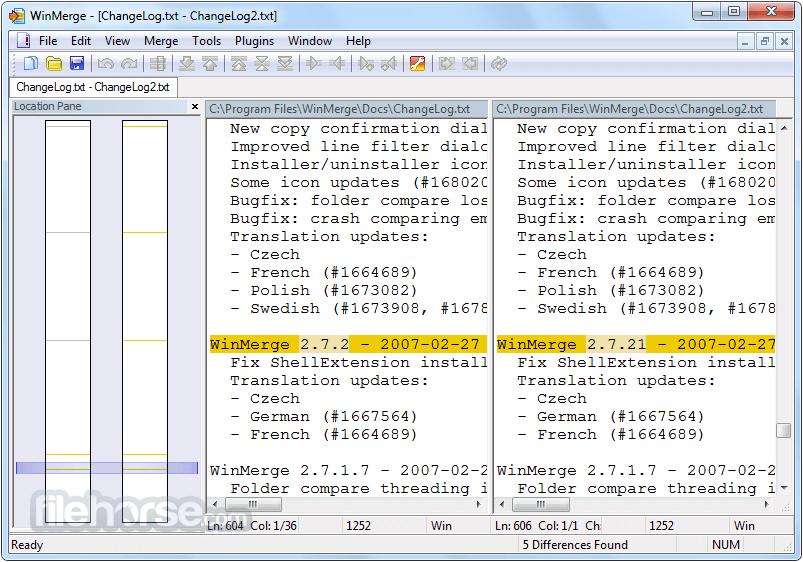 Winmerge 2.14.0