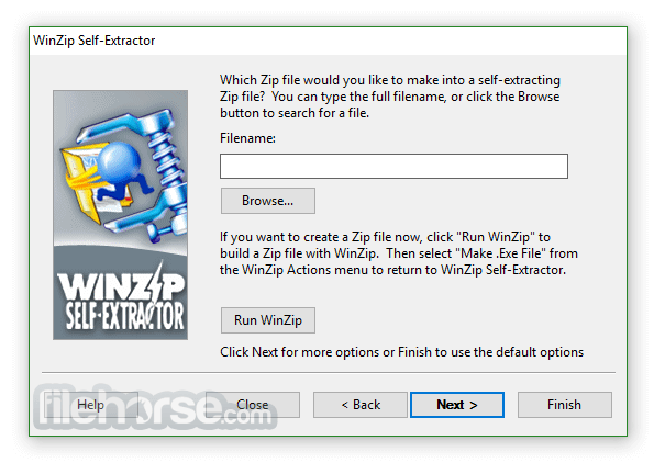 WinZip Self-Extractor 4.0.12218 Captura de Pantalla 4