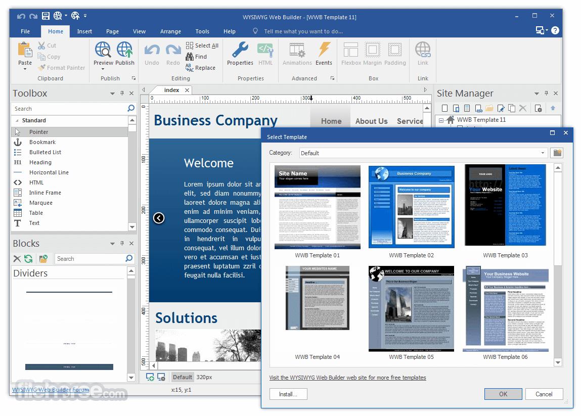 Wysiwyg Web Builder 1422 Download For Windows Change Log