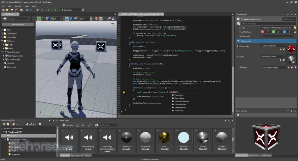 Xenko 3.1 Screenshot 3
