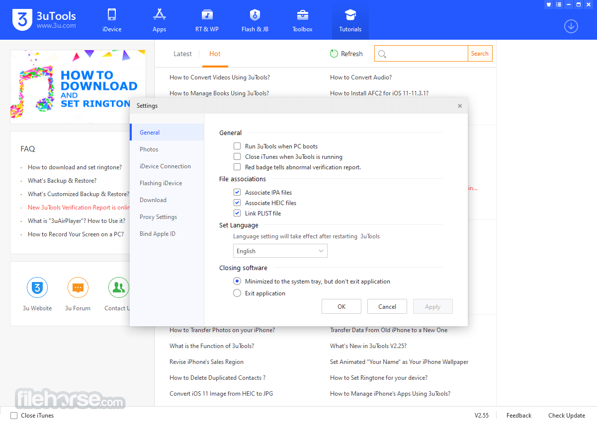 3uTools 2.25 Screenshot 5