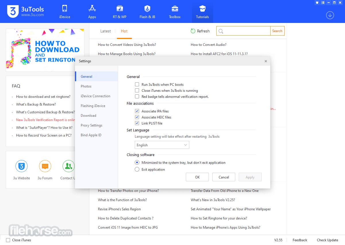 3uTools 2.18 Screenshot 5