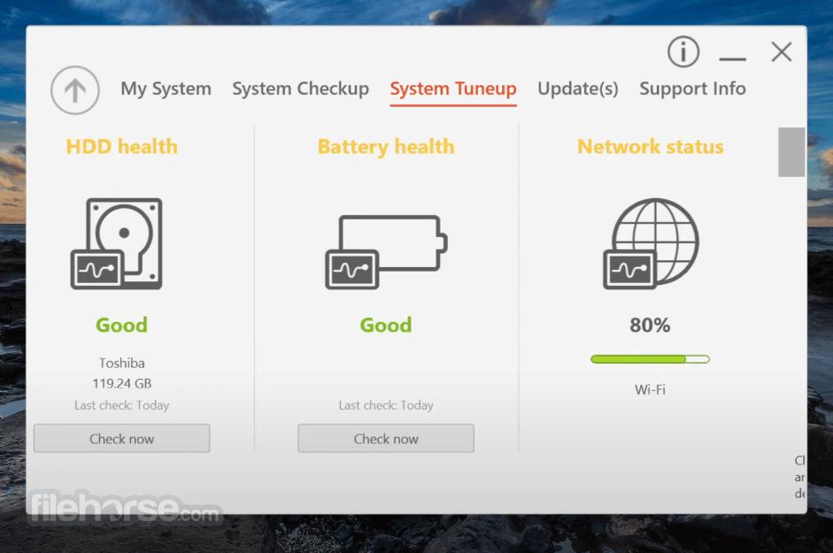 Acer Care Center 4.00.3010 Screenshot 3