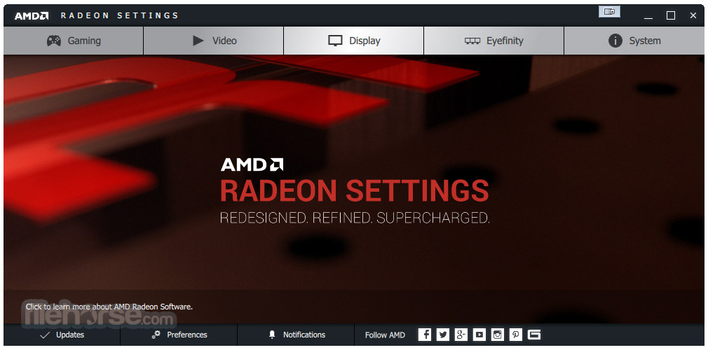 AMD Radeon Adrenalin Edition Graphics Driver 17.12.2 (Windows 10 32-bit) Screenshot 1