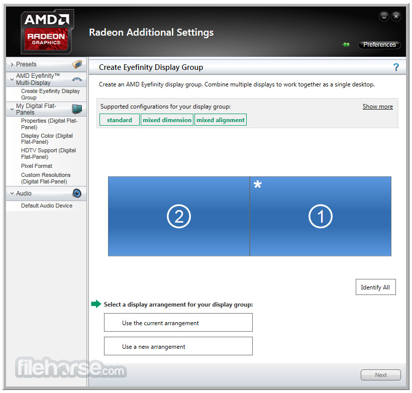 AMD Catalyst Drivers 14.4 (XP 64-bit) Screenshot 5
