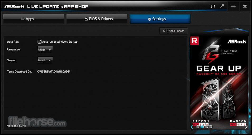 ASRock APP Shop 1.0.46 Screenshot 2