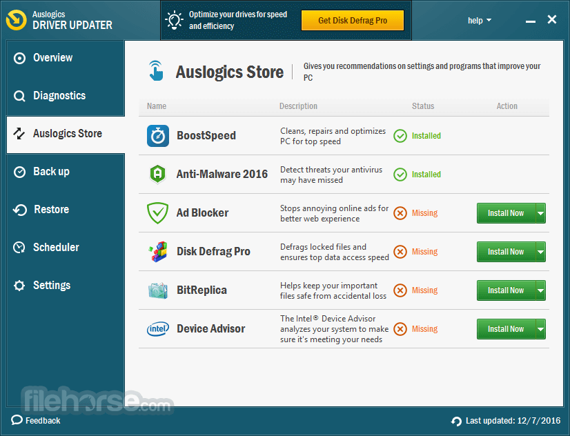 Auslogics Driver Updater 1.12.0.0 Captura de Pantalla 5