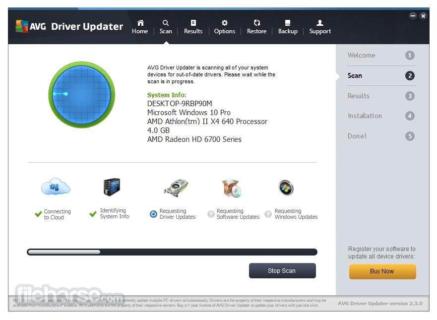 AVG Driver Updater 2.3.0 Captura de Pantalla 2