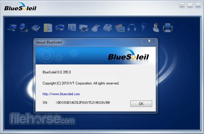 BlueSoleil 10.0.497.0 Captura de Pantalla 2
