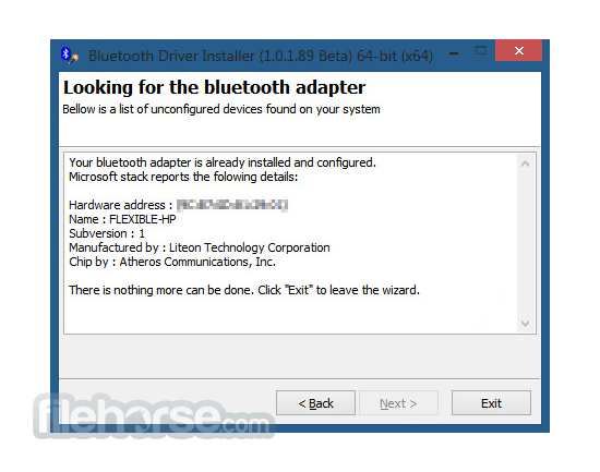 Bluetooth Driver Installer (64-bit) Download (2019 Latest