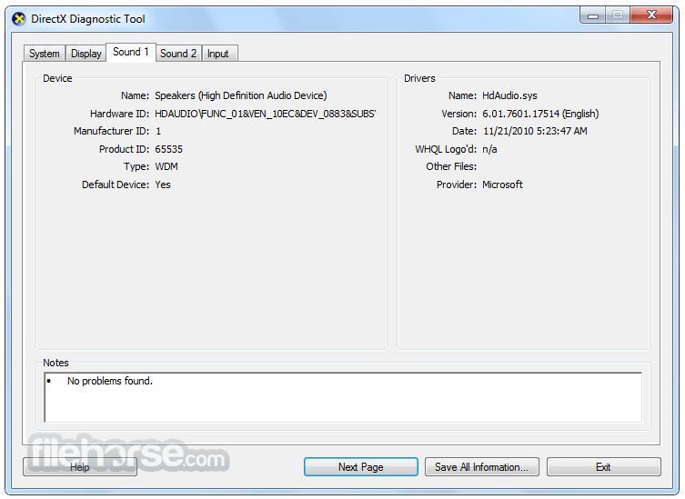 DirectX 9.0c (Jun 10) Screenshot 3